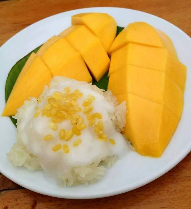THAI DISHES AND RECIPES  Famous Mango and Sticky Rice