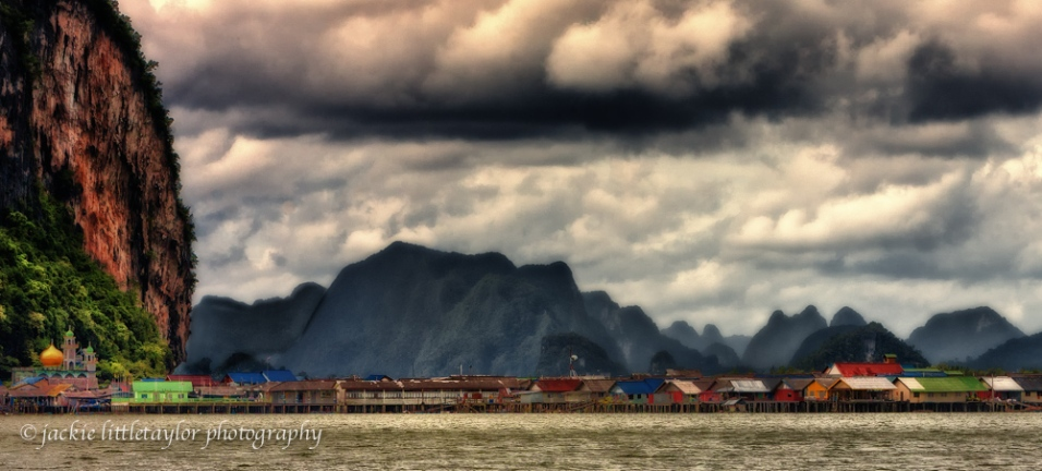 Koh Panyee Fishing Village Phang Nga Bay Thailand