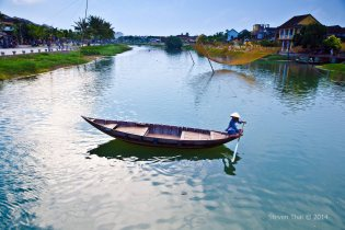 Hoi An - Song Thu Bon river