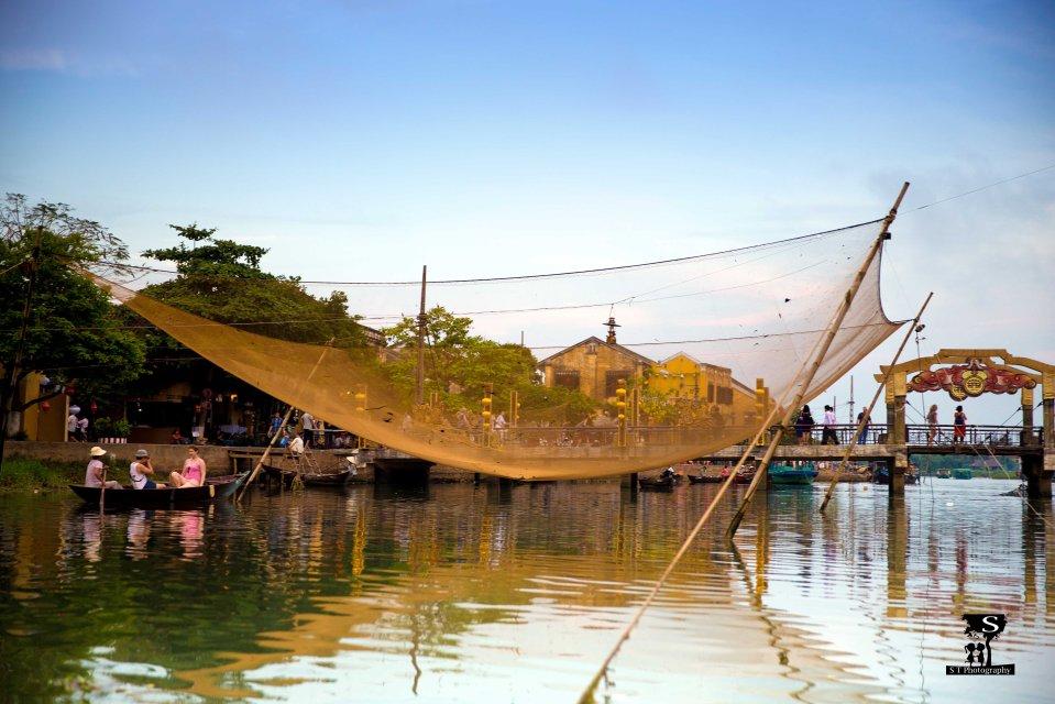 Hoi An - Song Thu Bon river