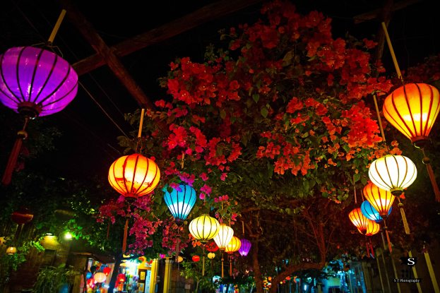 Lanterns on main street
