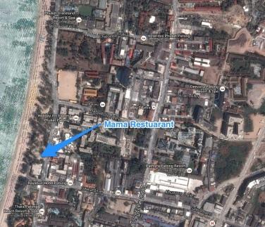 map of Mamas Restaurant