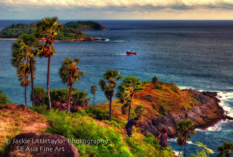 Promtep Cape tip of Phuket Island Thailand