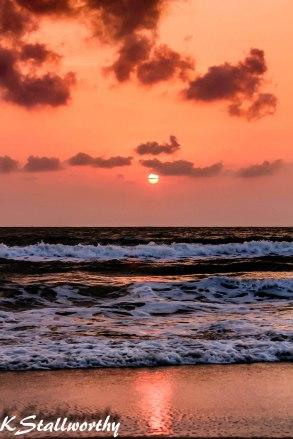 Sunrise on Nadan Beach, Khanom