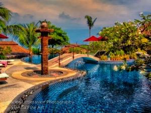 salt water pool Mangosteen Spa and Resort