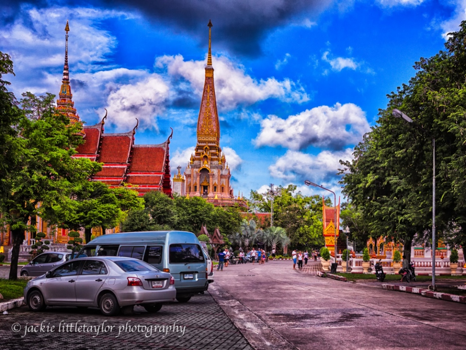 entering Wat Chalong  Thailand