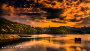 sunset Bang Wad Dan Phuket Thailand