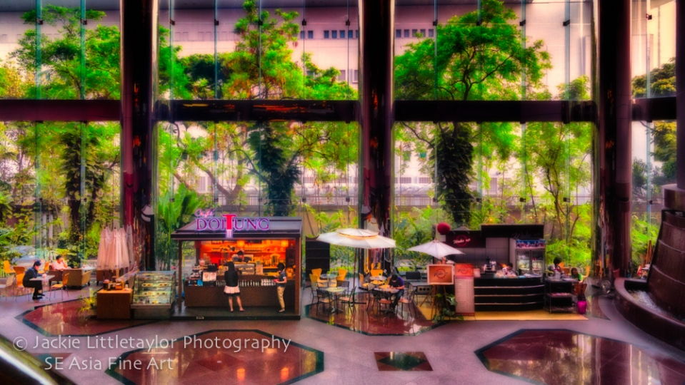 morning coffee Bangkok Office building Bangkok 16x9