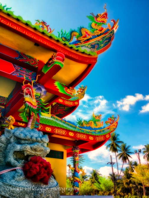 more colorful asian architecture