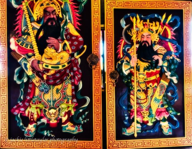 Doors 2/3 Guanau-Nabon Chinese Shrine