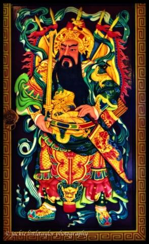 Door 4 of 6 Guanau-Nabon Chinese Shrine