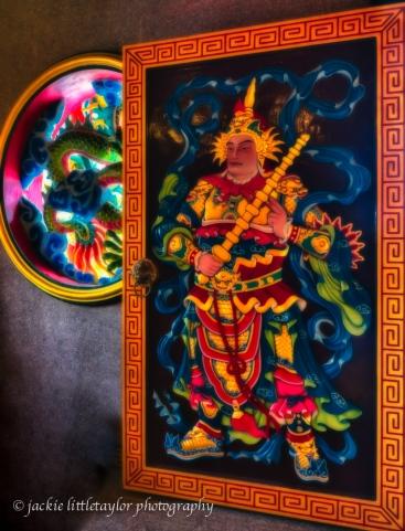 Door 6 and window Guanau-Nabon Chinese Shrine