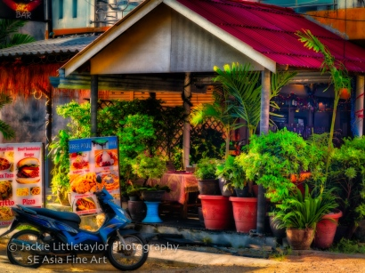 Boomer American cafe and bar Kamala Thailand