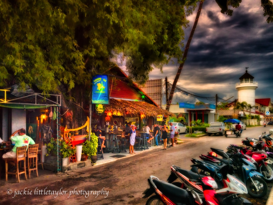 nightlife Chalong Beach Phuket impression