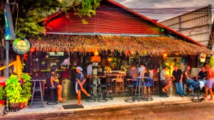 drinks in the evening along Chalong Beach impression
