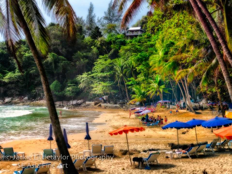 Laem Sing Beach after clean up