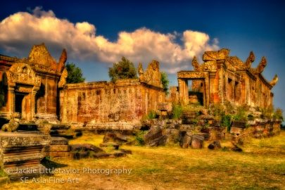 World Heritage Site Preah Vihear Cambodia 5 dark skies