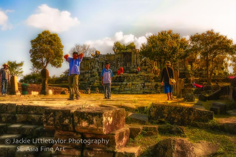 Preah Vihear Cambodia World heritage open court impression