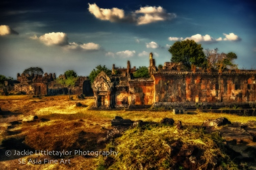 World Heritage Site Preah Vihear Cambodia 14 impression Fine Art