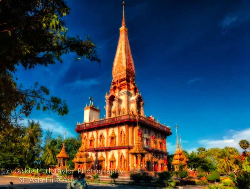 Located Chalong Phuket island Thailand