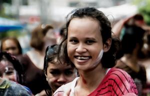 Smiling Songkran girl-Songkhla-#2A
