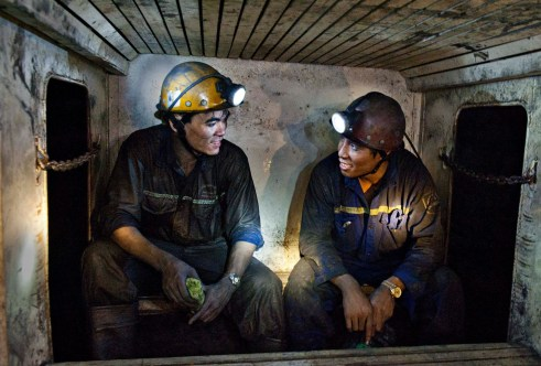 Tan ca....Back to the ground-Vang danh coal mine -Quang ninh Vu Ngoc