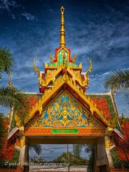 entrance to school Local Thias preschool Chalong Bright colors H