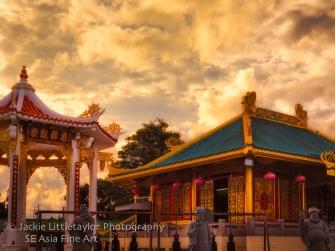 front of shrine
