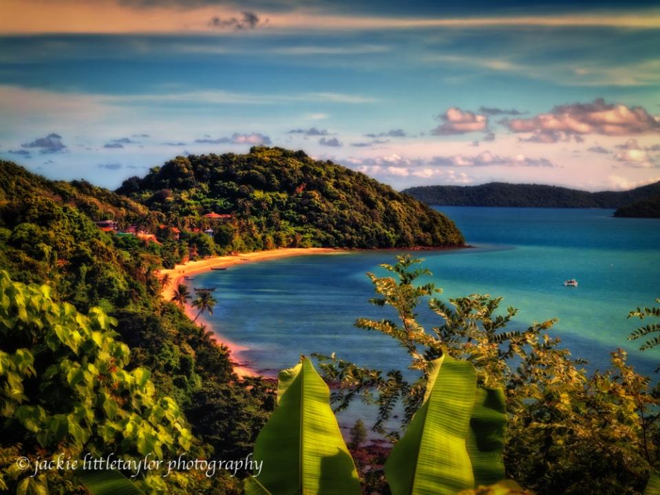 Cape Panwa Chalong bay beach