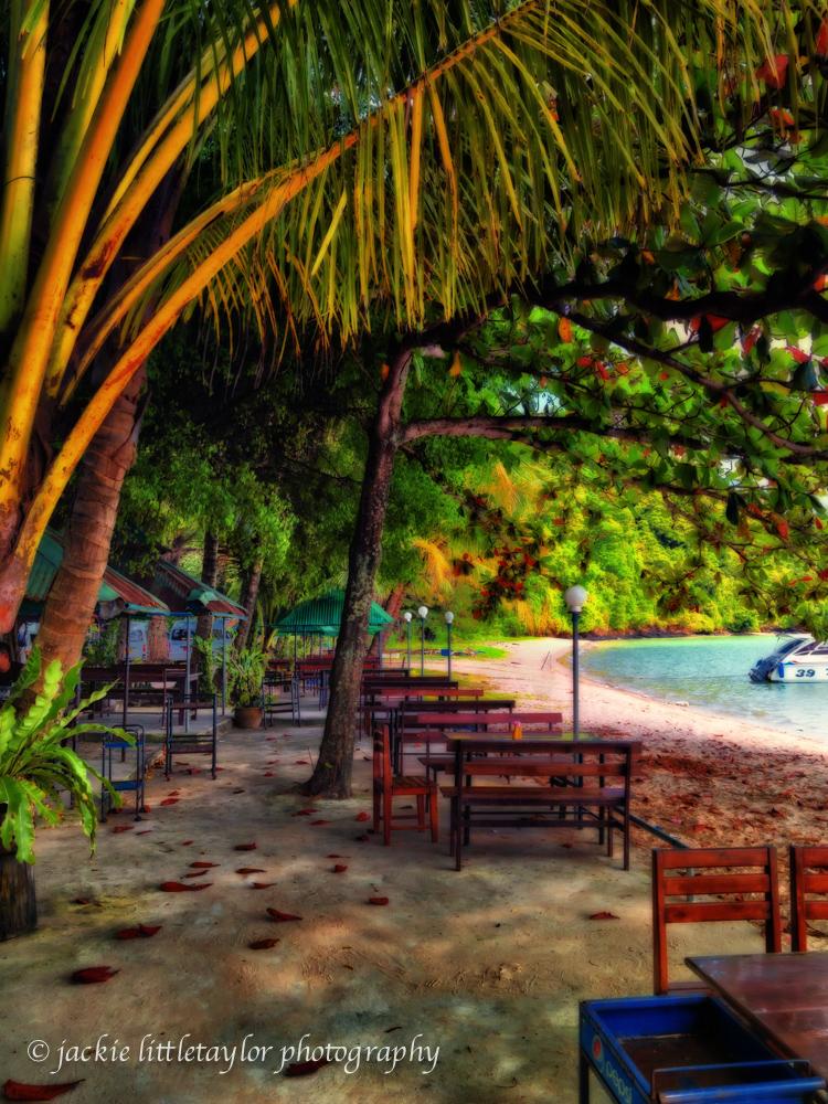 Siray Island Gypsy Beach cafe