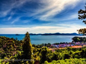 sea gypsy village Siray Island Thailand