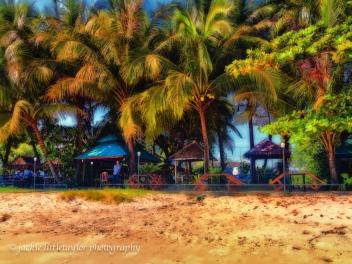 Cafe on Gyprsy Beach Phuket Thailand