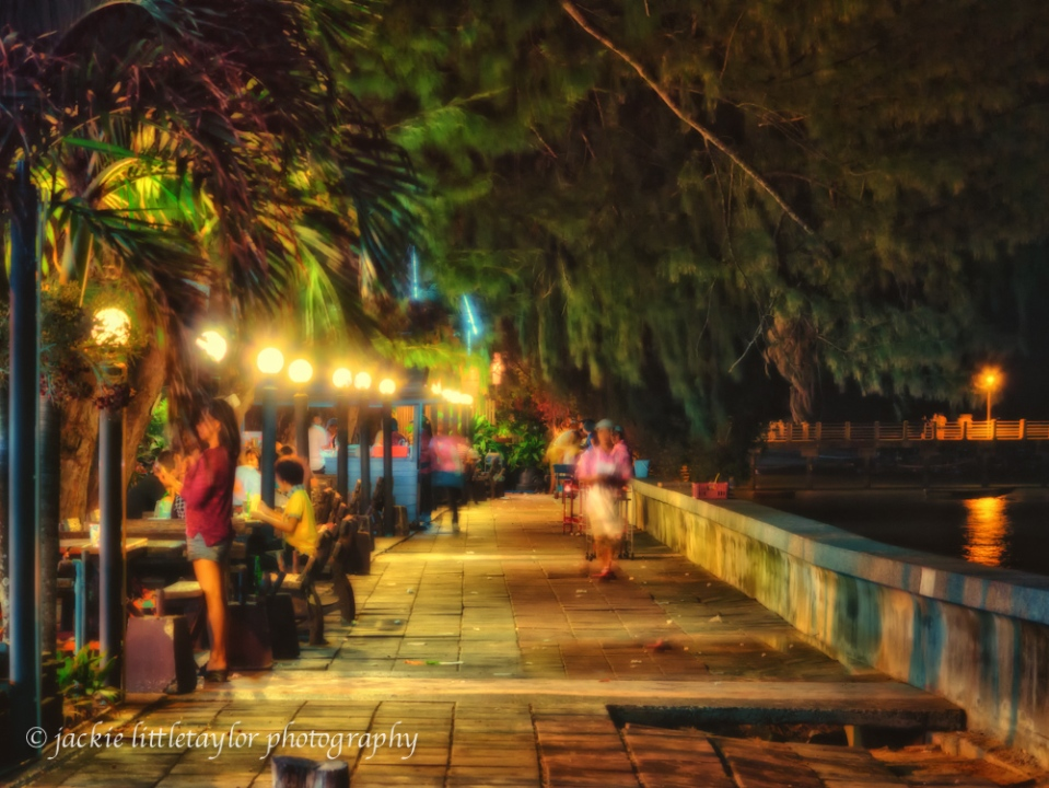 dining on the waterfront Rawai Thailand impression