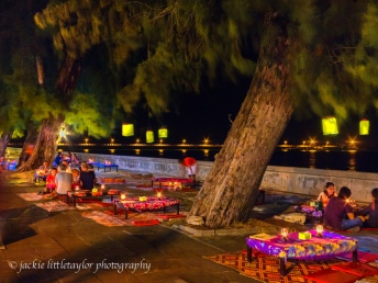 dinner by candlight Rawai Beach impression