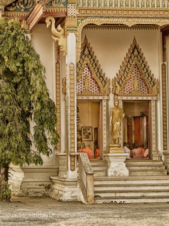 Wat Ladthiwanaram Black/Gold Phuket Thailand