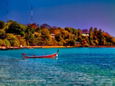 longtail boat Cape Panwa