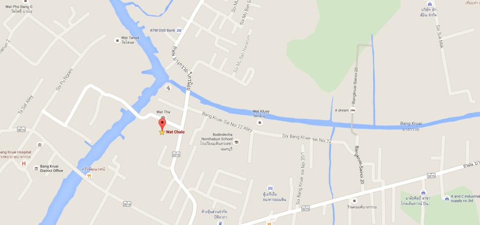 map Wat Chalo
