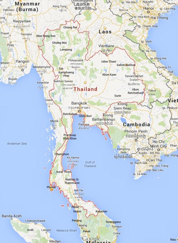 Thailand_-_Google_Maps