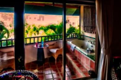 hot tube Mangosteen resort