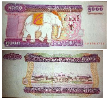 myanmar money