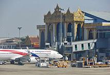 Yangon Airport Burma