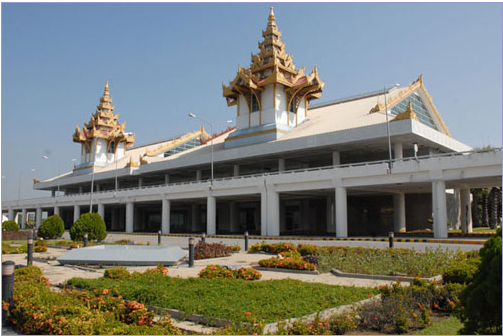Mandalay Airport Burma