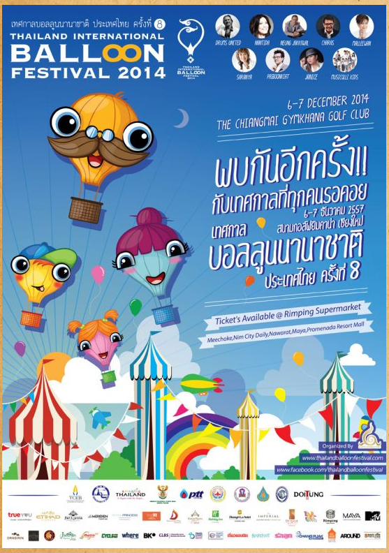 Thailand International Ballon Festival
