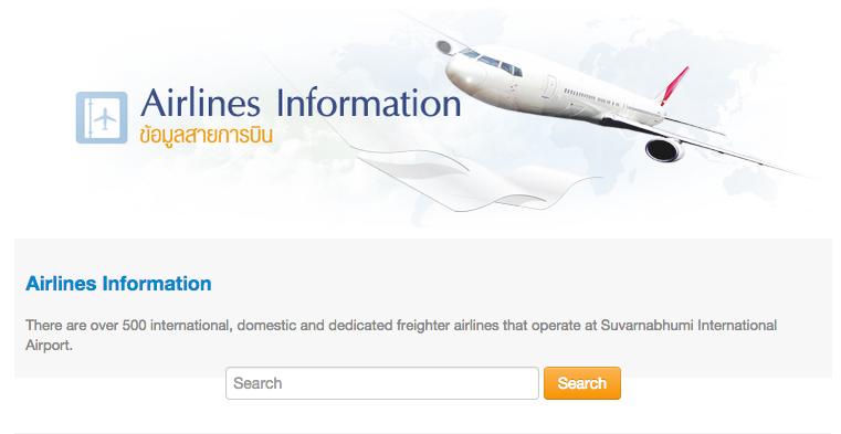 airline information