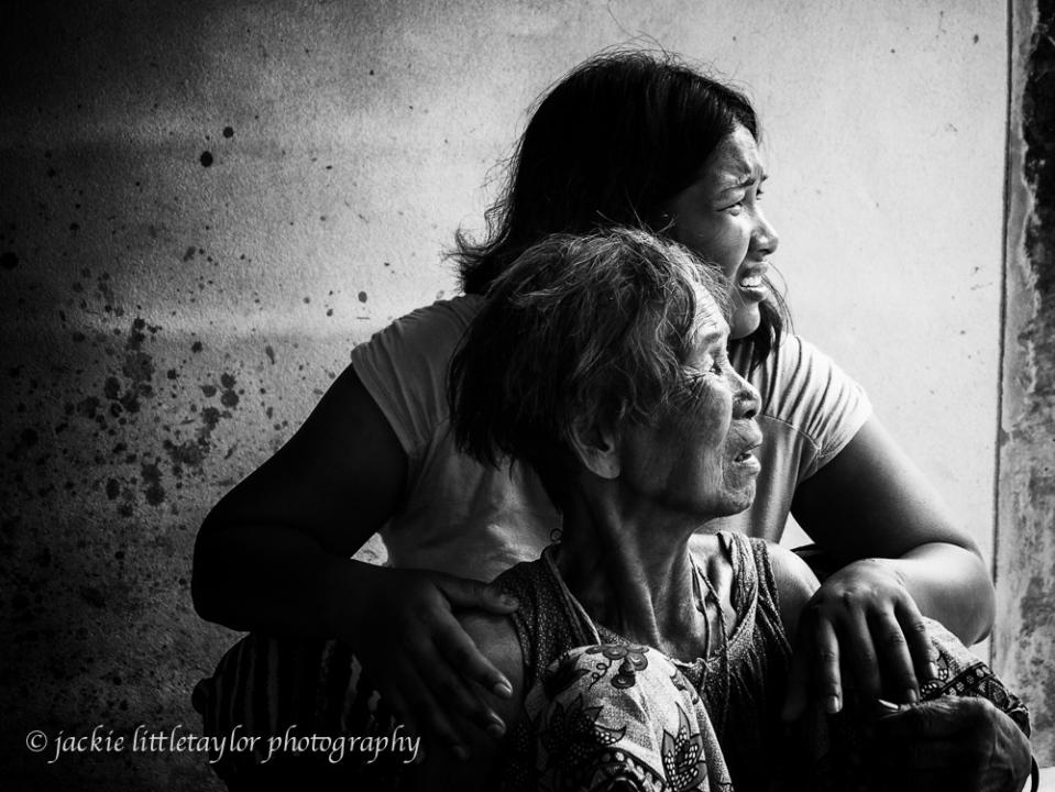 women Issan Village life B/W