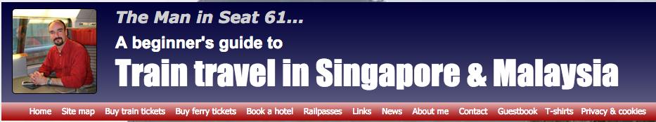 seat 61 Malaysia singapore