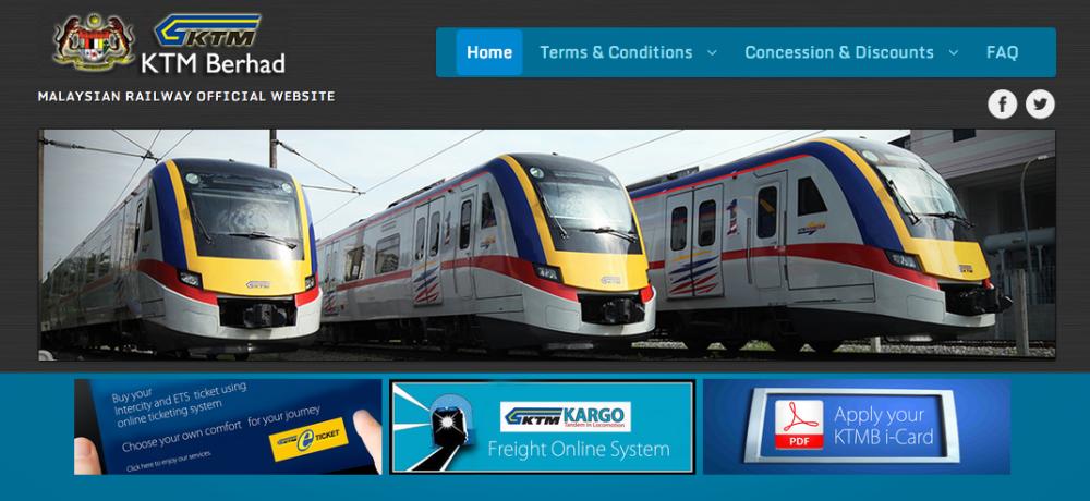 Train Travel  Malaysia (1/6)