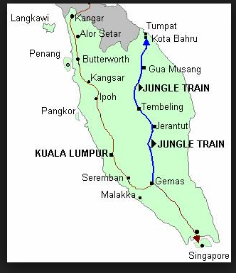 Train Travel  Malaysia (2/6)