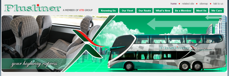 plusliner Bus malaysia