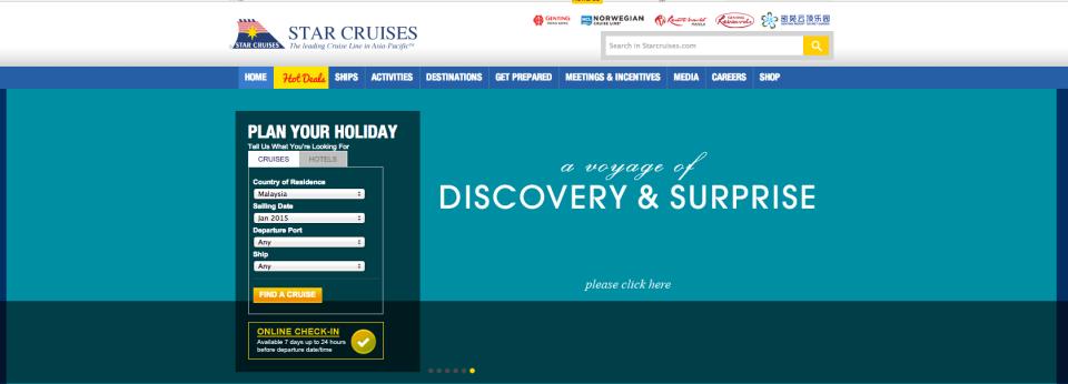 Star cruise malaysia